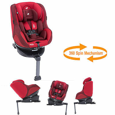 Joie Spin 360 Group 0+/1 Isofix Car Seat From Birth Merlot