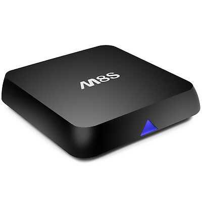 New M8S Android Smart 4K TV Box Quad Core WIFI Fully Loaded 2GB RAM