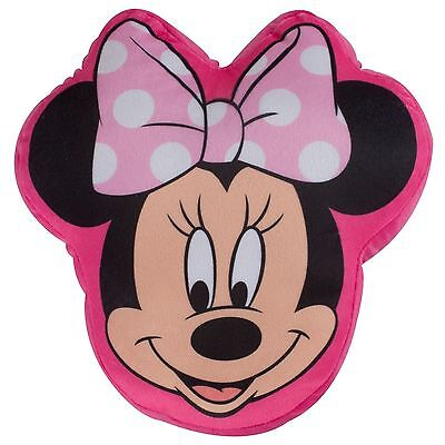 Disney Minnie Mouse Shaped Cushion New Official