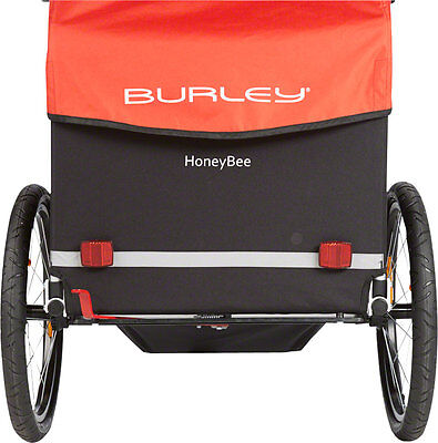 New Burley Honey Bee Child Trailer Red