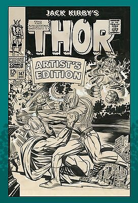 IDW JACK KIRBY THE MIGHTY THOR Artist's Edition HARDCOVER! HC!