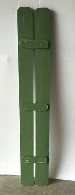 Vintage House Window Wood Shutter Shabby Cottage Chic Old Green 1086-16
