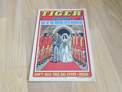 TIGER & Scorcher Comic Kevin Keegan & AUSTRALIA Cricket Team Picture 15/05/76