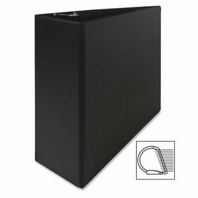 "Sparco Vinyl D-Ring Binder, 4""Capacity, 8-1/2""x11"", Black (SPR07801)"