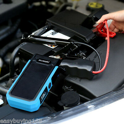 Suaoki 20000mAh 800A Auto Portable JumpStarter Booster Chargeur Batterie USB LCD