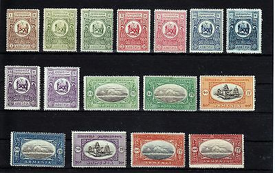 ARMENIA  1920  Mi Ia - Ik  COMPLETE  SET  +  COLOR  SHADES