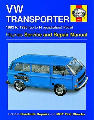 HAYNES SERVICE & REPAIR MANUAL VW Transporter  Petrol (82 - 90) up to H