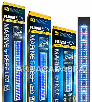 Fluval Marine & Reef Led 2.0 Lighting Spectrum Waterproof Great Quality Aquarium