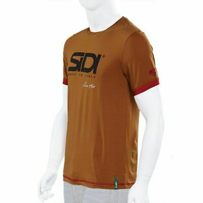Sidi Casuals T-Shirt-Since 60 Burnt Sienna - Quality Clothing