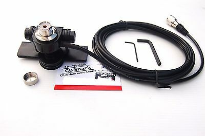 Heavy Duty So-239 Boot Mount Amateur Or Cb Radio Antenna 4 Meter Cable