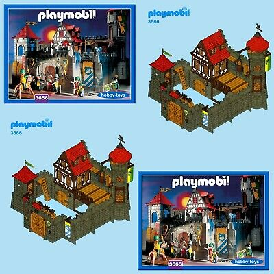 Playmobil * VINTAGE CASTLE 3450 3665 3666 3667 3888 7144 * SPARE PARTS SERVICE *