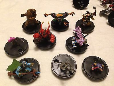 "34 World Of Warcraft Mini Figures 2009 1""-4"" Epics, Rare & Common"