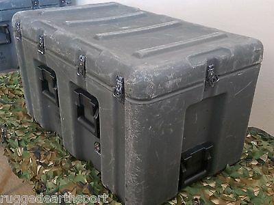 """Pelican Hardigg Wheeled Military Large Transport Case Med-Chest  33x20.5x19"""""""