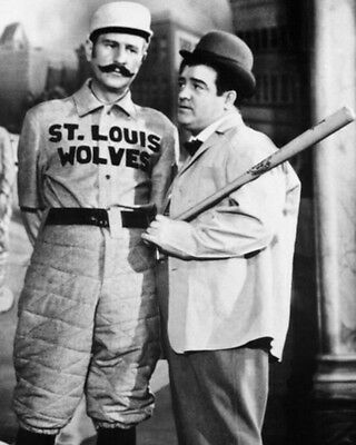 Who's On First ABBOTT & COSTELLO 8x10 Photo 'The Naughty Nineties' Poster Print