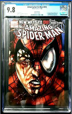 Amazing Spider-Man #570 Variant // Cgc 9.8 // Not Pgx, Cbcs !!! ( 2008 Marvel )