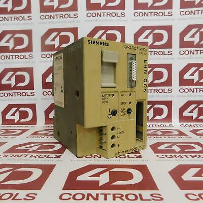 Siemens 6ES5 102-8MA02 SIMATIC S5-100U CPU102 Compact Controller - Used