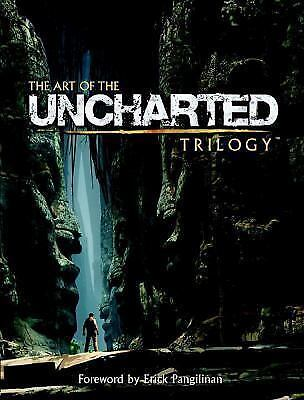 NEW The Art of the Uncharted Trilogy by Naughty Naughty Dog (2015, Hardcover)