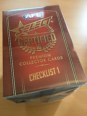 2016 Select Certified FULL SET Common Cards (220 Cards)