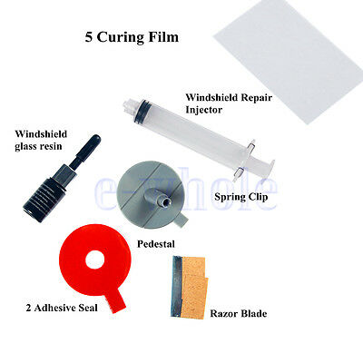 Windscreen Windshield Repair Tool DIY Car Auto Kit Glass For Chip & Crack BE