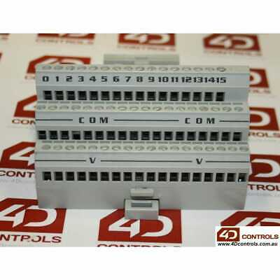 ABB S200-TB3 TERMINAL BLOCK INTERFACE 16POINT 2/3WIRE 24V - Used