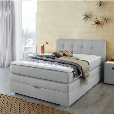 boxspringbett romantica bett beige hotelbett. Black Bedroom Furniture Sets. Home Design Ideas
