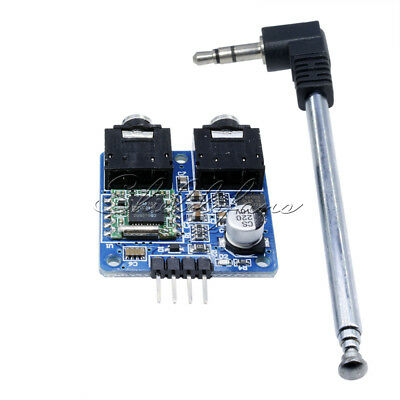TEA5767 FM Stereo Radio Module for Arduino 76-108MHZ With Free Cable Antenna SF