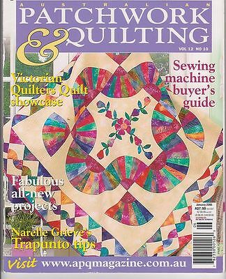 Australian Patchwork & Quilting - SEVEN magazines - and Choose from 94 - Bulk