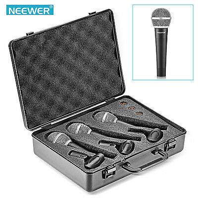 Neewer NW-881 Dynamic Vocal Recording Microphone Set FX#18