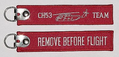 Schlüsselanhänger CH53 Team - Remove Before Flight .......R1107