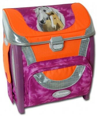 Sammies By Samsonite Optilight Pink Horse Schulranzen Büchertasche Neu/ovp!