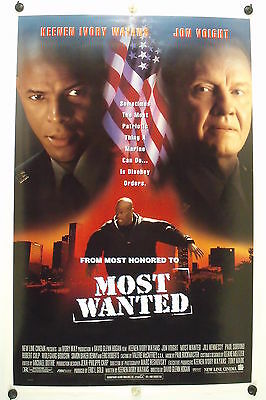 MOST WANTED - Keenen Ivory Wayans  - Original Movie Poster - 1997 Rolled DS C8