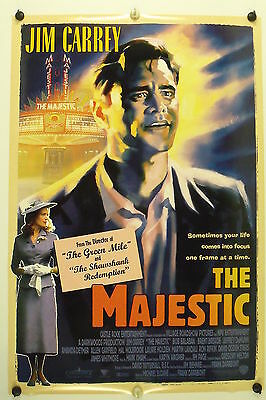 The MAJESTIC - Jim Carrey -  Original Movie Poster - 2001  Rolled DS C9/C10