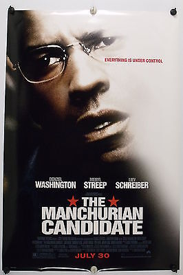 "The MANCHURIAN CANDIDATE - Original Movie Poster - 2004  Rolled DS ""B"" C9/C10"