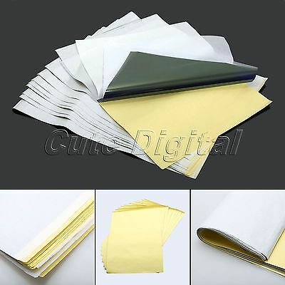 10 30 50 Sheets Tattoo Transfer Copier A4 Paper Stencil Carbon Thermal Tracing