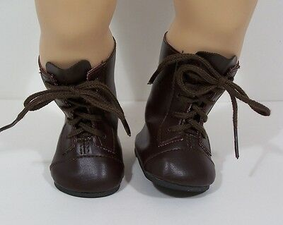 "Debs CREAM LaceUp Lace Up Boots Doll Shoes For 12/"" Marley Wentworth"