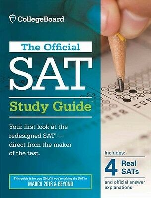 Official Study Guide For The New Sat - New Paperback Book