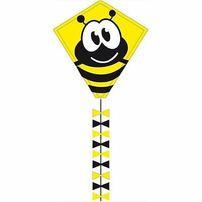 Eddy Bumble Bee Kids Diamond Kite - Easy To Fly