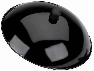 Typhoon Gloss Black Metal Wok Lid 14 Inch / 36.5cm