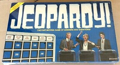 JEOPARDY Home Version Vintage 1986 Merv Griffin Enterprises new sealed