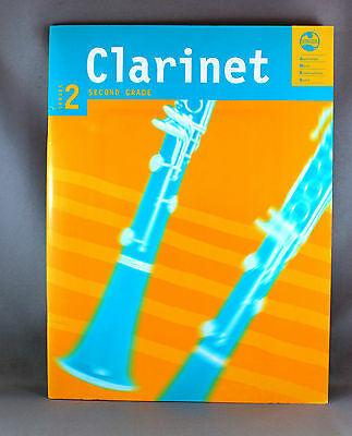 AMEB Clarinet Series 2 Grade 2 - Brand New + Piano Accompaniment
