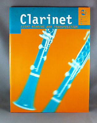 AMEB Clarinet Sight Reading and Transposition - Brand New