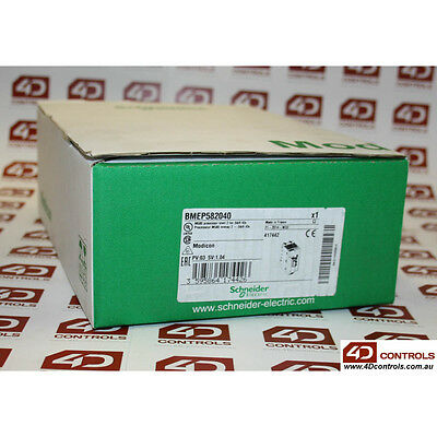 Schneider BMEP582040 PROCESSOR MODULE 2048 I/O PORTS 8MB - New Surplus Open
