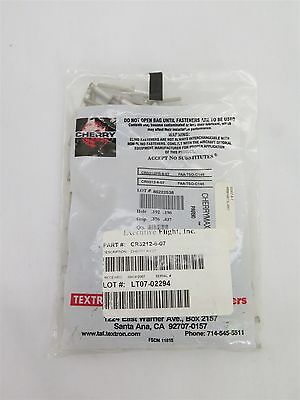 New Aircraft Cherry Max Rivet Cr3212-6-07, Cr3212Pr-6-07 - Sealed Bag Of 100