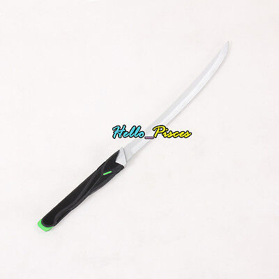"""Exclusive made Game Anime Overwatch OW Genji Dagger Weapon PVC Cosplay Prop 23"""""""