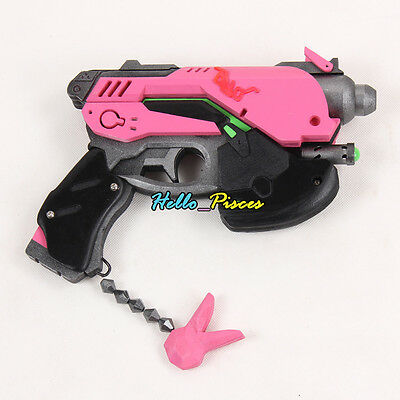 Exclusive made Anime Overwatch OW D.VA Weapon Gun PVC Cosplay Prop 11""
