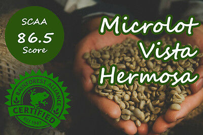 Raw Colombia Vista Hermosa Microlots Supremo - 3KG  Arabica Green Coffee Beans