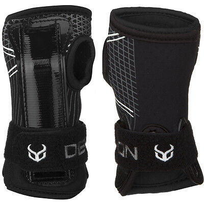 Demon Black Snowboard Wrist Guards Protective Gear Free Delivery Australia