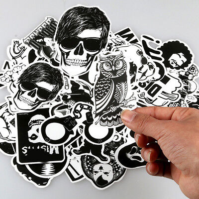 50pcs Stickers Skateboard Sticker Bomb Graffiti For Phone Laptop Luggage Car