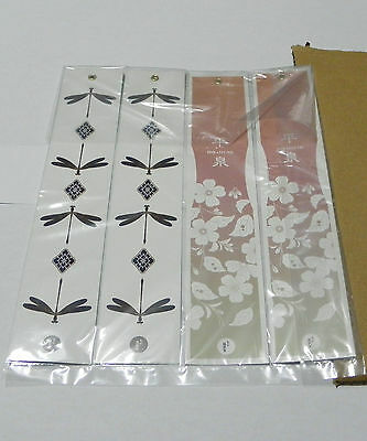 Tanzaku for Japanese furin / Paper Wind Sail for wind chime (5 sheets) + twine