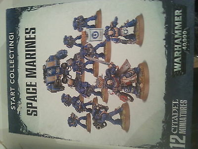 Warhammer 40K Start Collecting Space Marines Box Set - New & Sealed